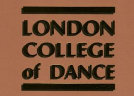 Logo of the London College of Dance & Drama